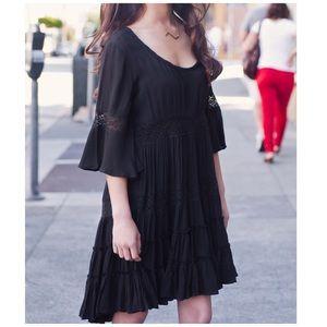 FP Black Dream Lace Dress